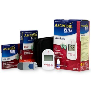 Ascensia Elite Test Strips, 50 /bx