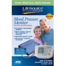 Life Source Dual Memory Blood Pressure Monitor (Life Time Warranty)